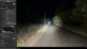 Fyrlyt Nemesis wide road scene