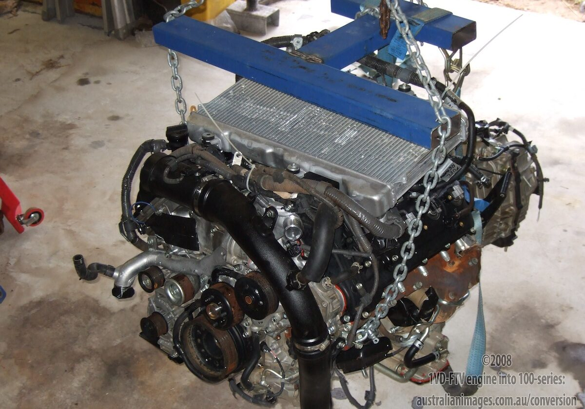 1VD-FTV engine conversion